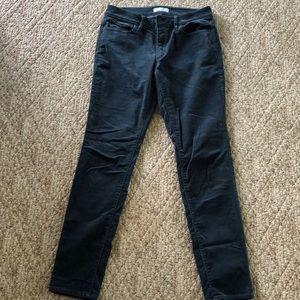 Slate blue, courduroy pants